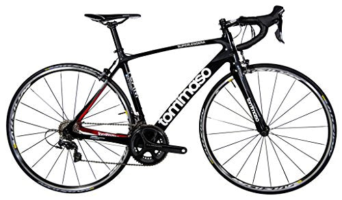 Tommaso Superleggera Carbon Road Bike, Shimano Dura Ace 9000, Small