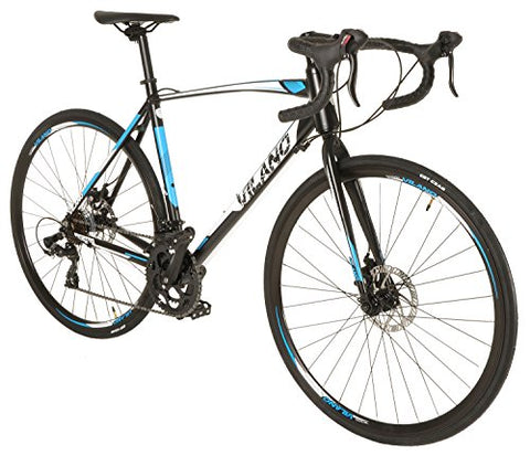 Vilano Shadow 3.0 Road Bike Shimano STI Integrated Shifters, Dual Disc Brakes