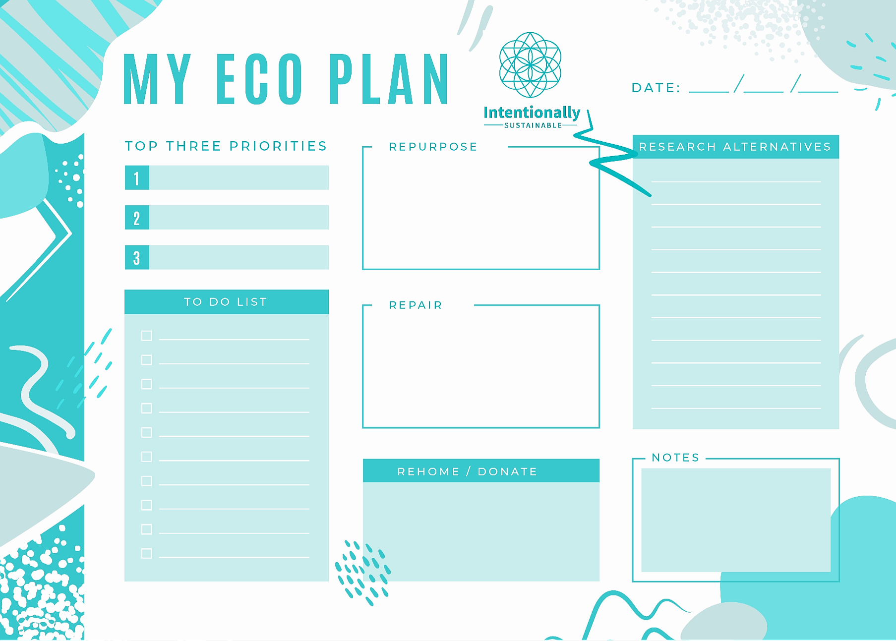 My Eco-friendly Planner