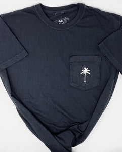 Solo Palm Short Sleeve Tee in Black