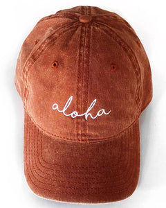 Aloha Hat in Rust