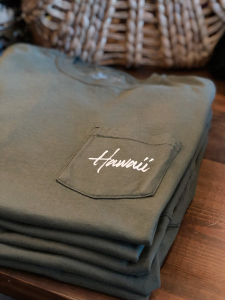 Hawaii Pocket Tee (3 colors)