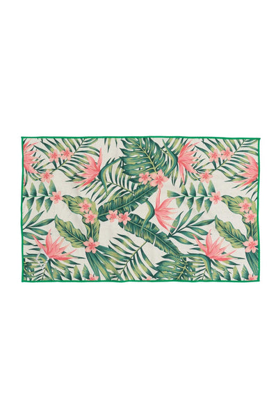 Palms Pink Hand Towel