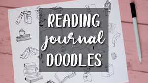 READING JOURNAL IDEAS | Book Doodles for Your 2020 Reading Journal