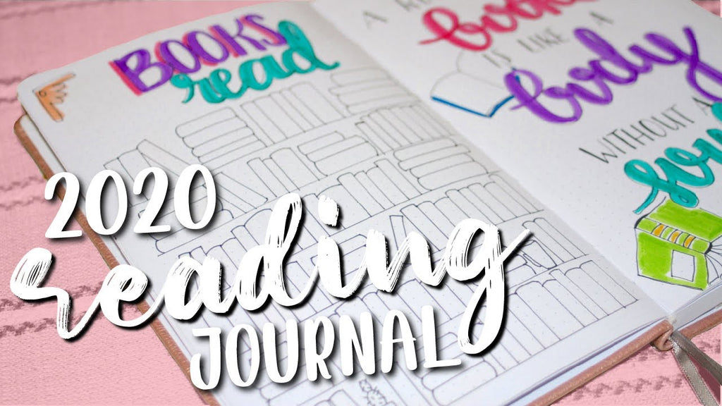 2020 READING JOURNAL SETUP | Reading and Bullet Journal Ideas