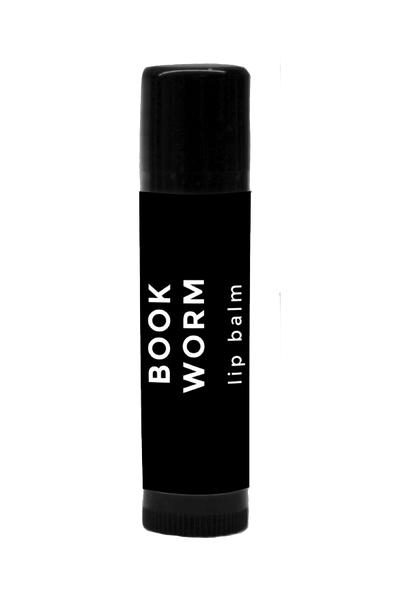 BOOK WORM LIP BALM