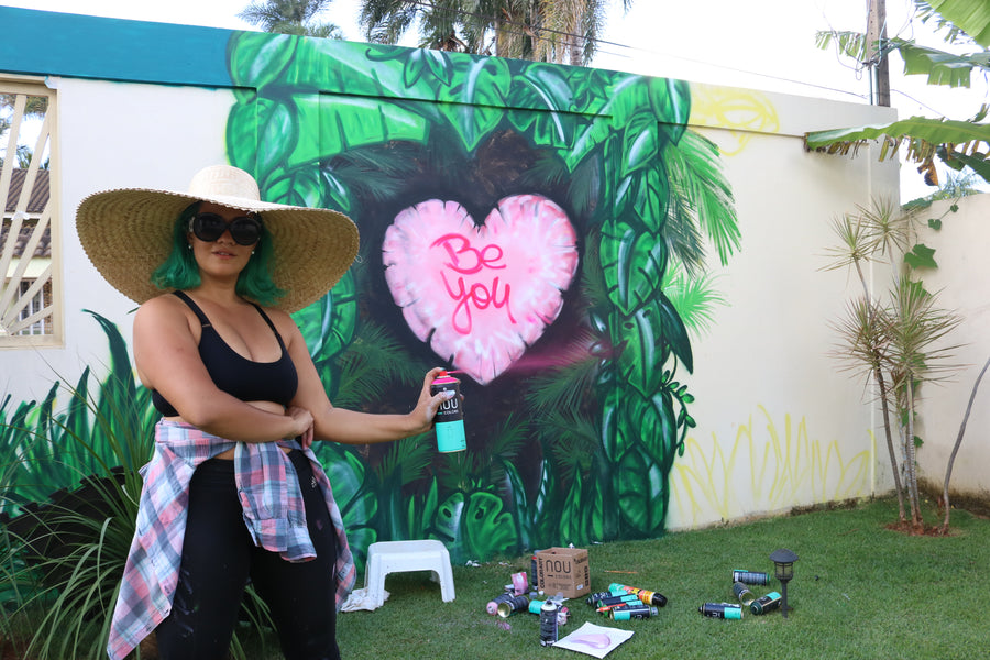 Be You Mural Process