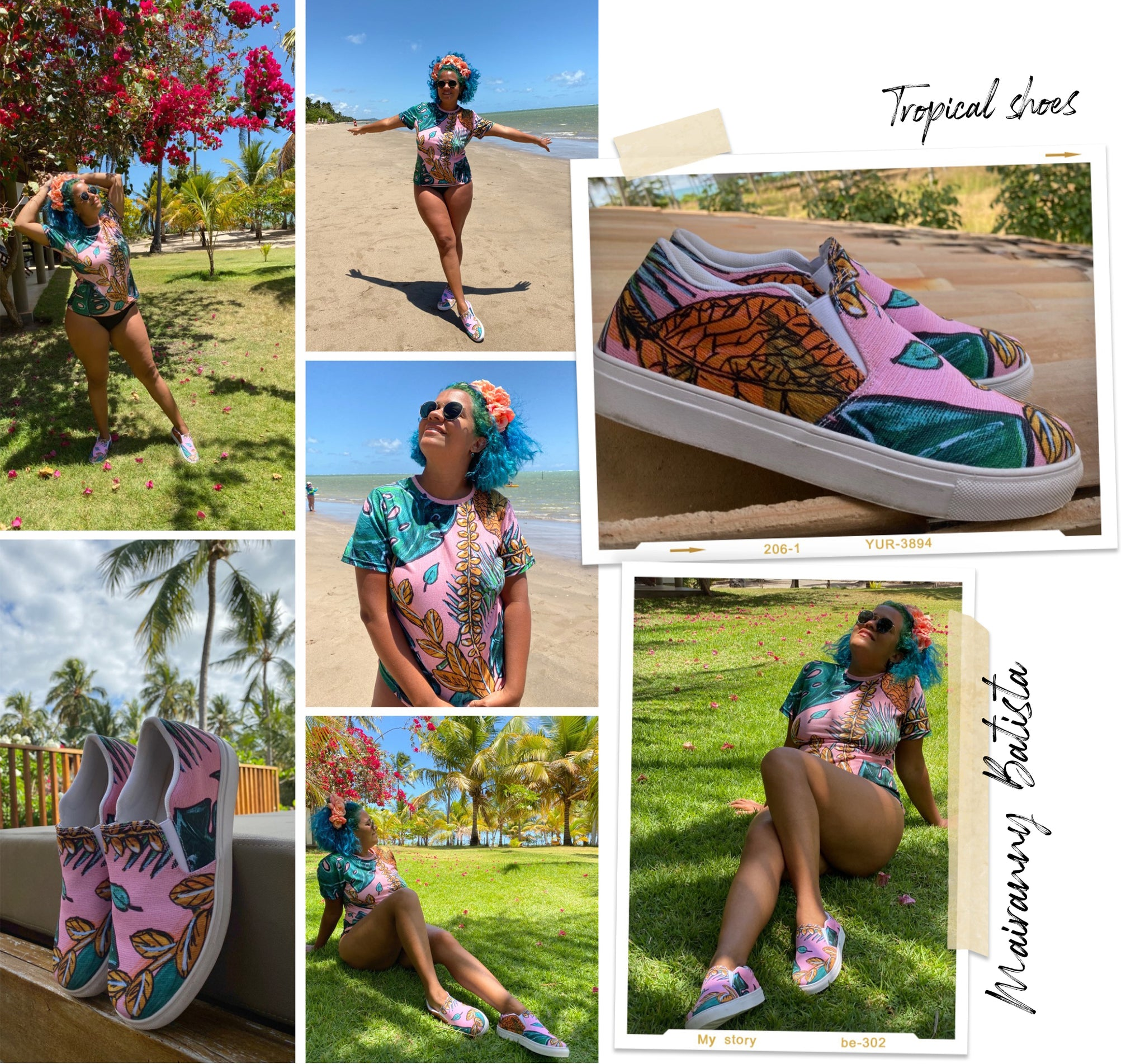 tropical dress, tropical collection