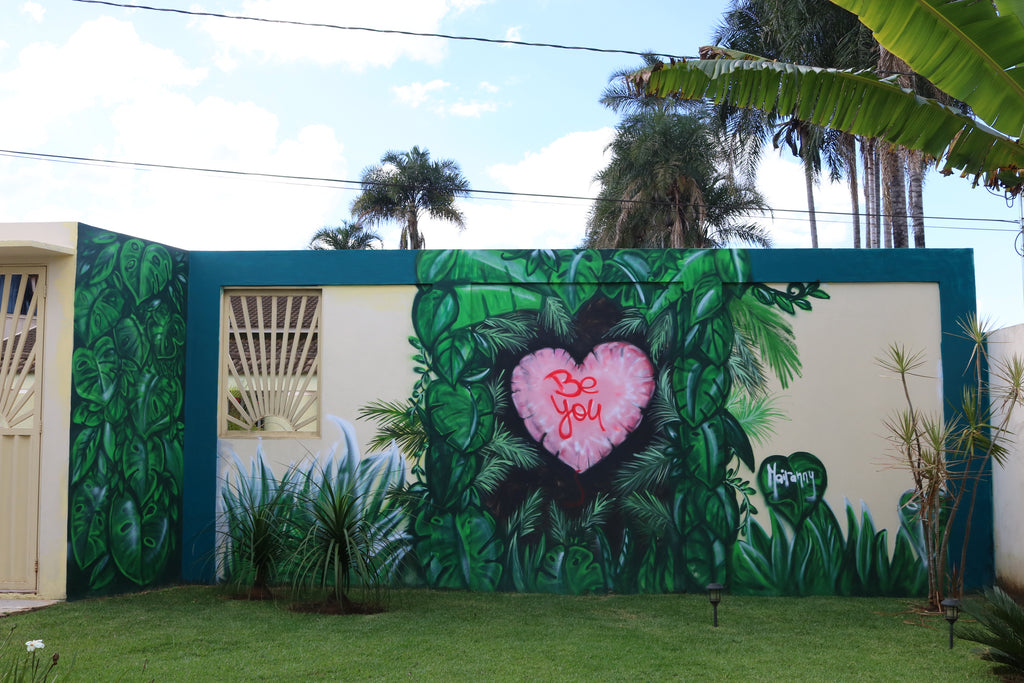 Be You Mural, Botanic Mural
