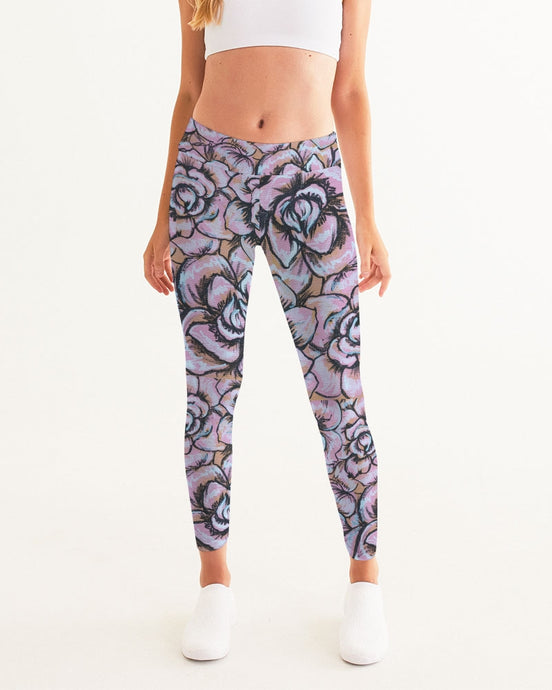 Pink Flower Women's Yoga Pant