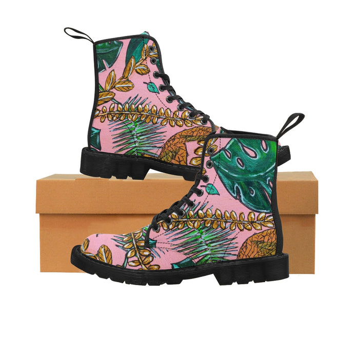 Tropical Canvas Women's Boots