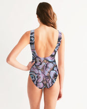 Pink Flower Women's One-Piece Swimsuit
