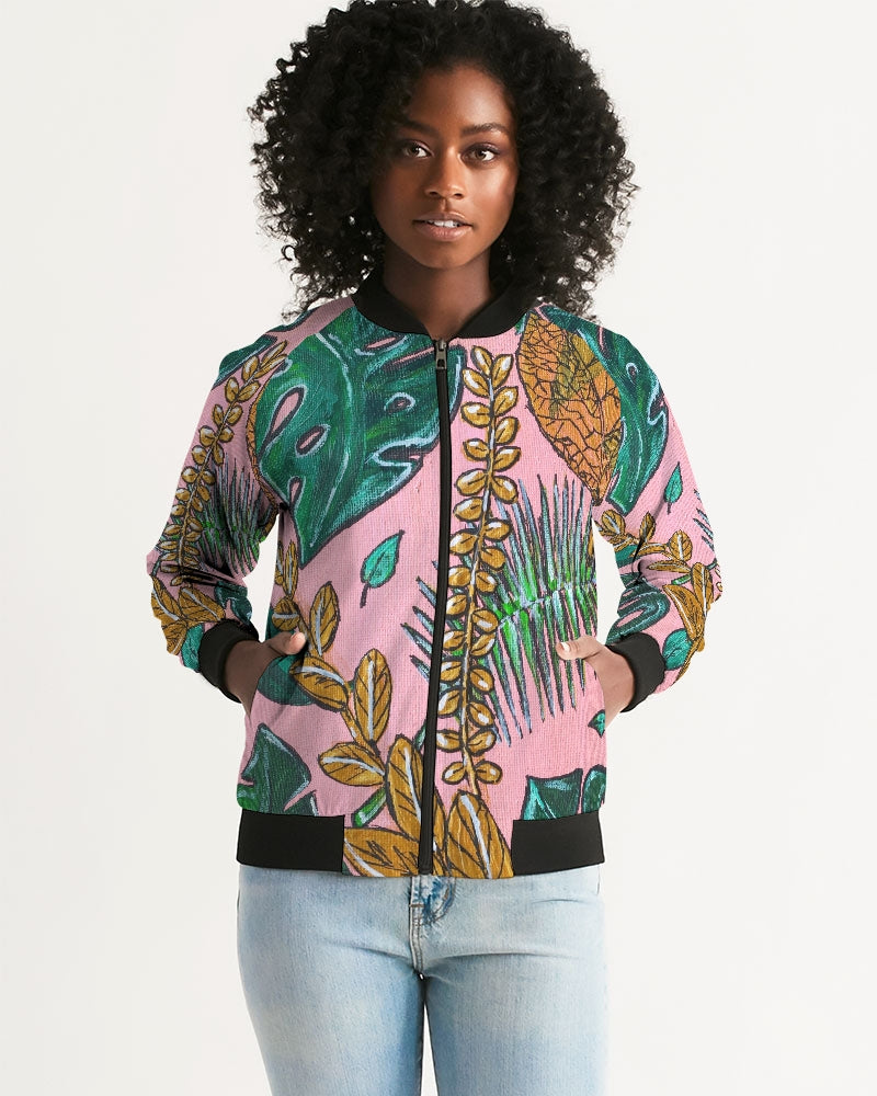 Tropical  Women's Bomber Jacket