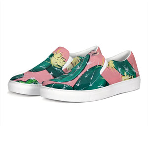 Cactus  Slip-On Canvas Shoe