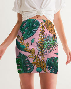 Tropical  Women's Mini Skirt