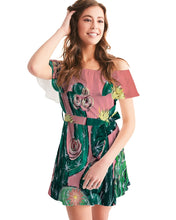 Cactus   Women's Off-Shoulder Dress
