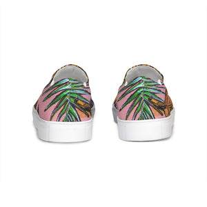 Tropical  Slip-On Canvas Shoe