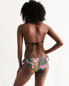 Tropical  Women's Triangle String Bikini