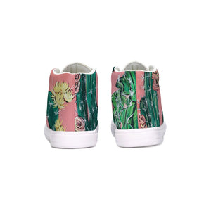 Cactus  Kids Hightop Canvas Shoe