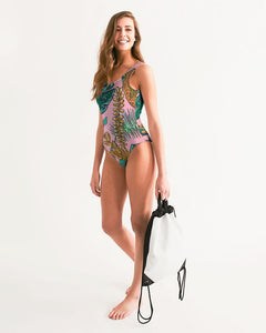 Tropical  Women's One-Piece Swimsuit