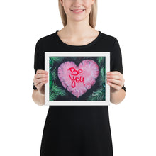 BE YOY - Framed poster