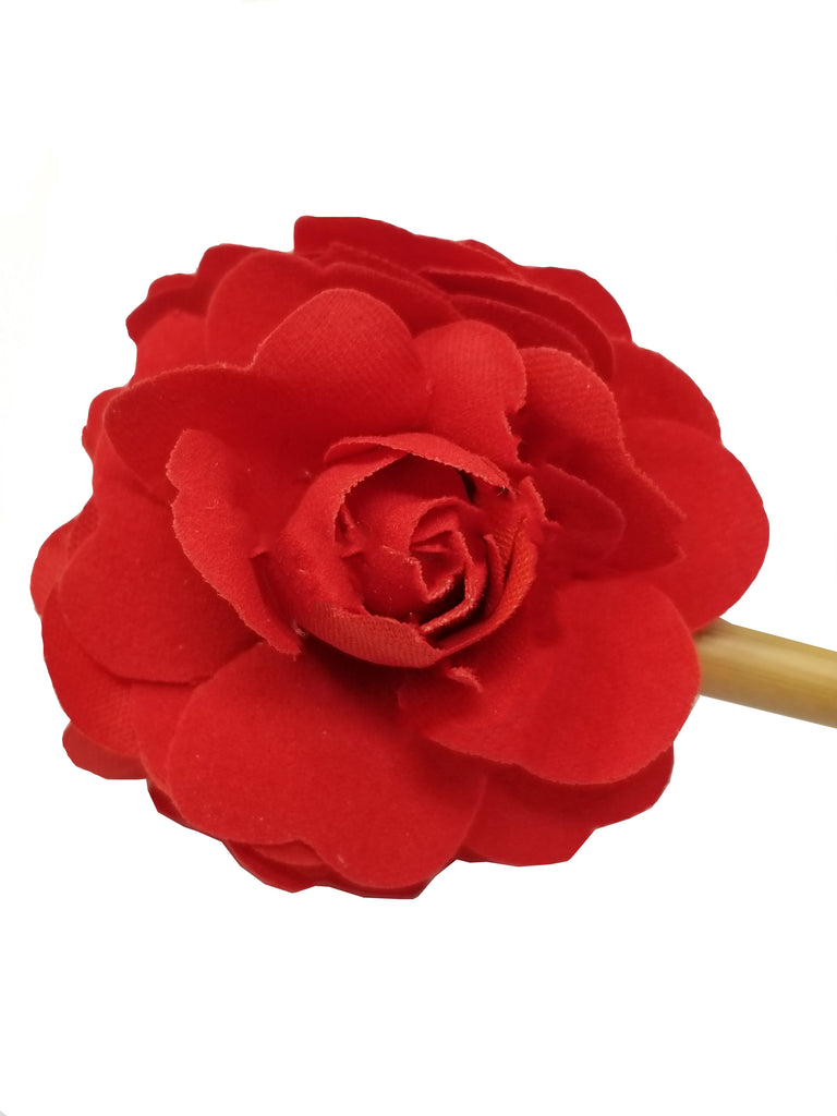 Evogirl Juda Stick Pure Wooden Red Rose Classic Everyday Wear Hair Pin, Med, for Women