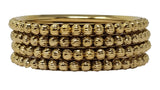 Evogirl Evogirl Bangles Golden Sequence Designer Bronze Gold,  (2 * 4), for Traditional/Women (Pack of 4)/rb1973