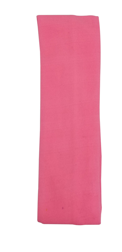 Evogirl Evogirl Headband Cotton Elastic Stretchable for Multi Purpose, Yoga, Sports, DanceHot Pink, Girls/rb571