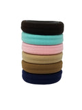 Evogirl Evogirl Rubberbands Schooltime Elastic Rubberband Soft & Strong  1.4cm Thick Dark Shade Multicolored/rb1039