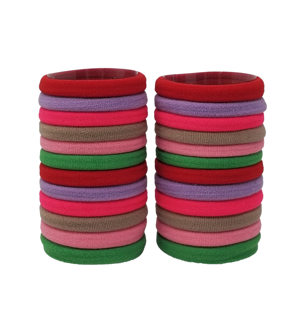 Evogirl Evogirl Rubber Bands Elastic No Metal Everyday Wear Hair Bands Bright Shade, Small, for Women/Girls/rb1316