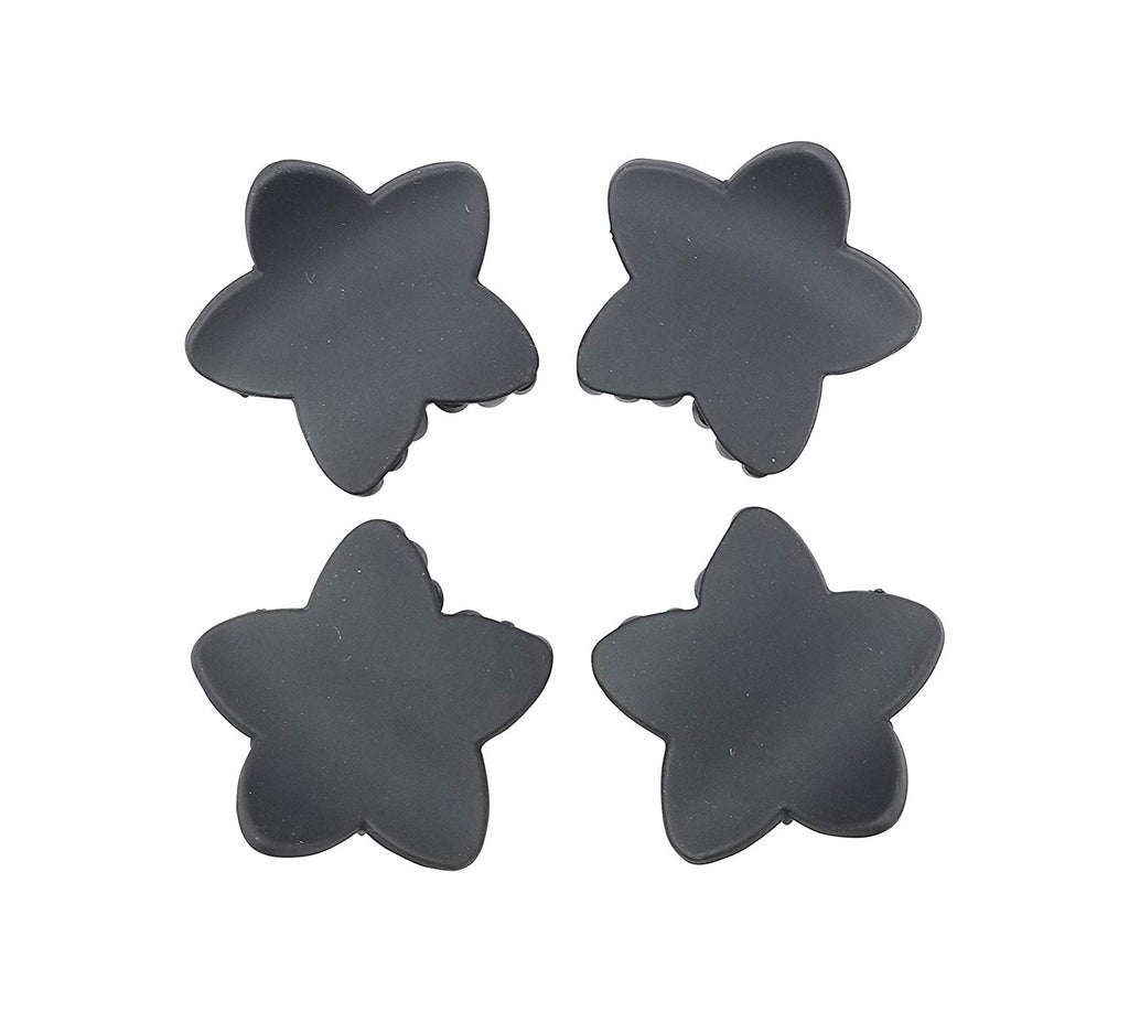 Evogirl Evogirl Claw Clip Star Shape Grip Everyday Wear Hair Clip Butterfly Matte Black, Small/rb936