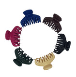 Evogirl Evogirl Claw Clip Giant Curved Wavy Jaws Cluther No Slip Grip Solid Multicolored, XLarge/rb1467