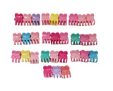 Evogirl Evogirl Cute Tiny Claws Glossy, Multicolored Kids Hair Claw Clips/rb925