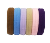Evogirl Evogirl Rubberbands Schooltime Elastic Rubberband1.4cm Thick Basic Shade Multicolored/rb1041