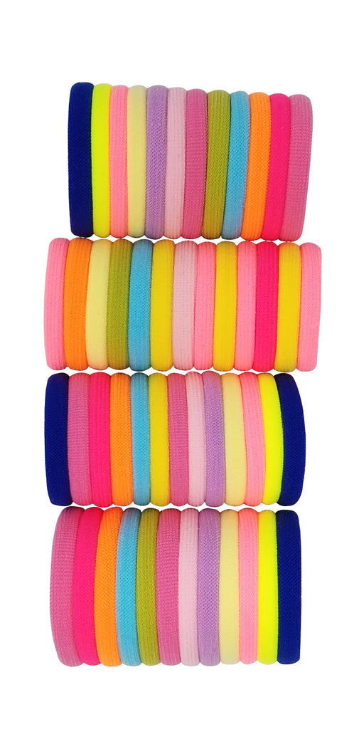 Evogirl Evogirl Rubberbands Schooltime Elastic Rubberband1.4cm Thick Multicolored,  (Pack of 50)/rb1037