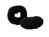Evogirl Evogirl Donut Bun Maker Light Weight Easy Wear Volumizer Chignons Black,Women Pack 2/rb1916