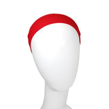 Evogirl Evogirl Headband Cotton Elastic Stretchable for Multi Purpose, Yoga, Sports, DanceRed, Girls/rb569