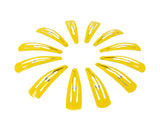 Evogirl Evogirl TicTac Pins Everyday Use Triangular Metal 5 cm Hair Clip Good Grip Yellow/rb957