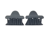 Evogirl Evogirl Claw Clip Triangle Shape Everyday Wear Hair Clip Butterfly Matte Black, Small/rb940