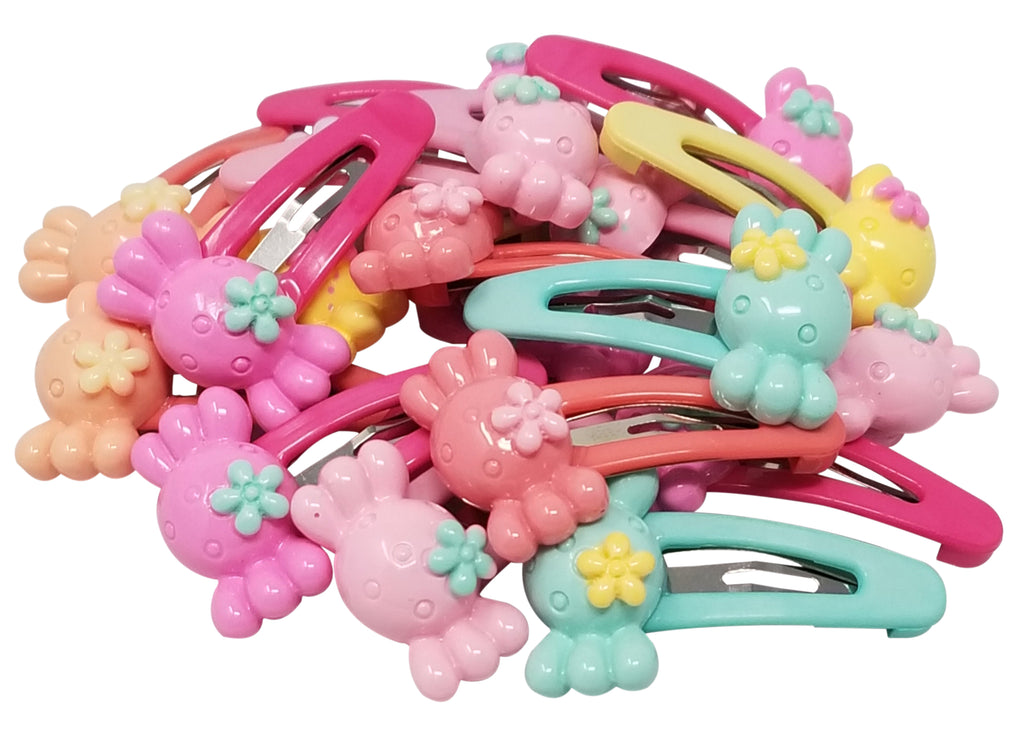 Evogirl Evogirl Cute & Funky Candy Multicolored Kids Snap Hair Clips, Small, for Kids/Girls/rb883