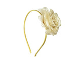 Evogirl Evogirl Rose Flower Partywear Head Band Golden, Silver, Med, for Women/rb1536