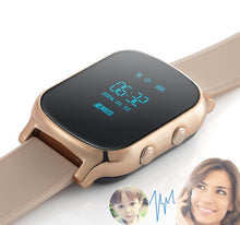 Luxury Smartwatch GPS Tracker, Bracelet Google Map, SOS Button