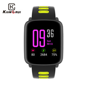 Sport Smart Watch Waterproof, IP68, Heart Rate Monitor, Bluetooth, Replaceable Straps