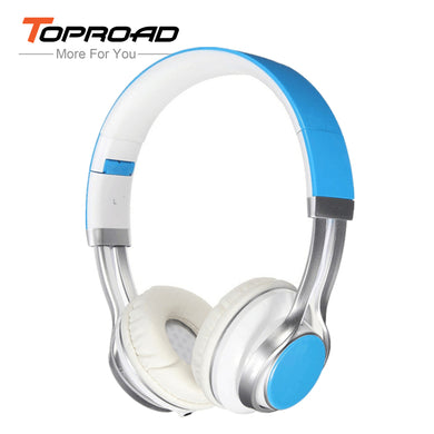 TOPROAD Wired Headphone 3.5mm Stereo Headset Foldable