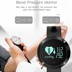Blackiss Smart Watch Heart Rate, Calls/SMS, Sedentary Reminder, Sleep Monitor