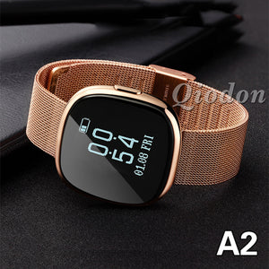 Luxury Women Smartwatch Bluetooth Connectivity, Waterproof, Heart Rate, Smartwatch Fitness