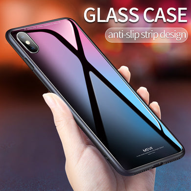 Msvii for iPhone X Glass Case