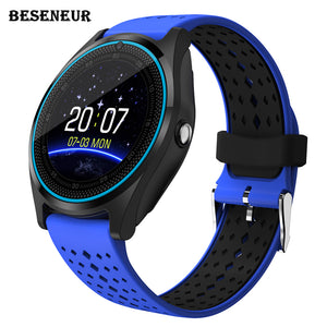 2018 Silicone LUX V9 Smart Watch, Camera, Bluetooth, SIM Card