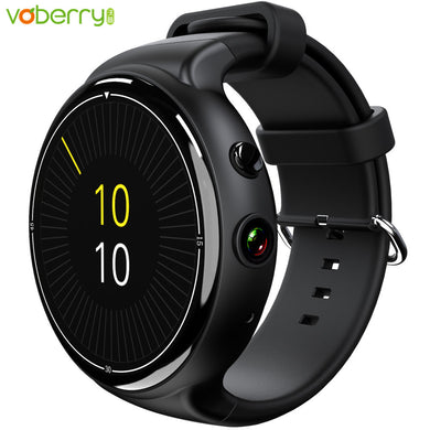 Black Air Smart Watch Android 5.1, Wifi, Heart Rate Monitor, 2.0 MP Camera, 2GB RAM + 16G, Quad Core, SIM Card