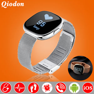 Fashion Metal Swim Smartwatch Blood Pressure, Heart Rate, Fitness Watch